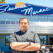 Chef James Montejano at Seaside Market 2016