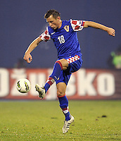 Fussball International, Nationalmannschaft   EURO 2012 Play Off, Qualifikation, Kroatien - Tuerkei       15.11.2011 Ivica Olic (Kroatien)