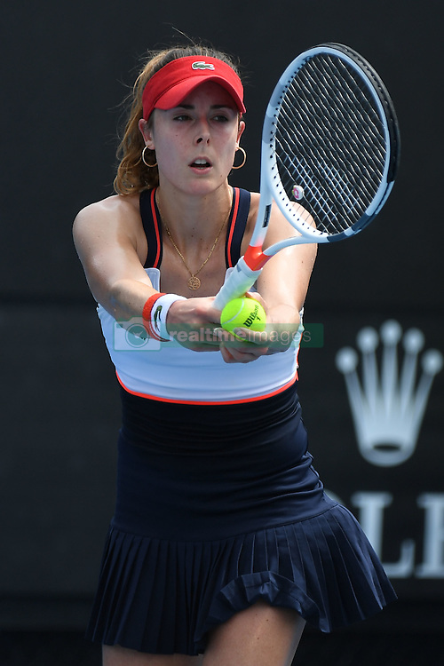 January 17, 2017 - Melbourne, Australia - Alize Cornet  (Credit Image: © Panoramic via ZUMA Press)