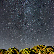 The Mily Way runs through the night sky above the Chesapeake Bay on Maryland's Eastern Shore.