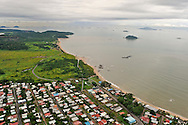 Aerial views of Veracruz. Panama.