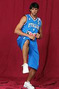 26/07/2005<br /> POSATI NAZIONALE ITALIANA MASCHILE <br /> NELLA FOTO: GIANLUCA BASILE<br /> FOTO CIAMILLO