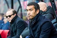 ALKMAAR - 11-12-2016, AZ -  Feyenoord, AFAS Stadion, 0-4, Feyenoord trainer/coach Giovanni van Bronckhorst