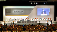 A general view during the Lufthansa AGM at Congress Center Hamburg, Hamburg<br /> Picture by EXPA Pictures/Focus Images Ltd 07814482222<br /> 28/04/2016<br /> ***UK &amp; IRELAND ONLY***<br /> EXPA-EIB-160428-0058.JPG