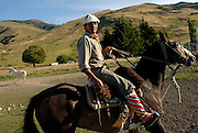 Argentine gaucho (cowboy).