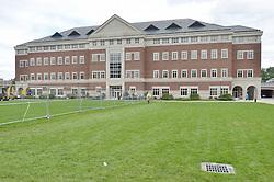 View East, West Elevation Vance Center. CCSU New Academic Building Construction Progress. Pre-Construction, Shoot 1
