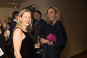 IWONA BLAZWICK and NADJA SWAROVSKI at the Whitechapel Gallery Art Icon 2015 Gala dinner supported by the Swarovski Foundation. The Banking Hall, Cornhill, London. 19 March 2015