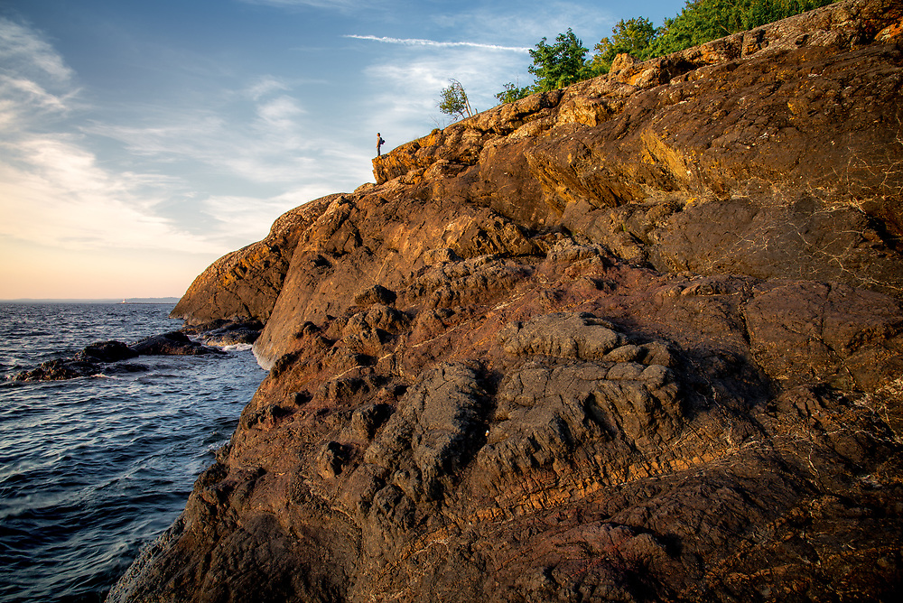 Black Rocks of Presque Isle, Lake Superior, Michigan
