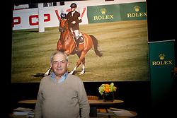 Taets Willy, (BEL), breeder Hello Sanctos<br /> Prize giving WBFSH<br /> Genève 2015<br /> © Hippo Foto - Dirk Caremans<br /> 11/12/15
