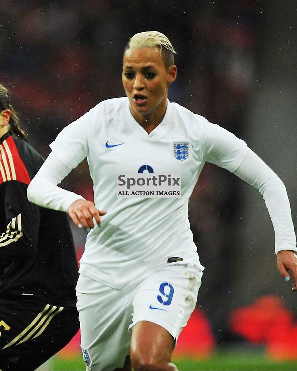 Dianne Sanderson England, England v Germany Ladies, Breast Cancer Care International, Wembley , Sunday 23rd November 2014