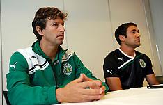 20110817 Sporting Lissabon træner på Farum Park