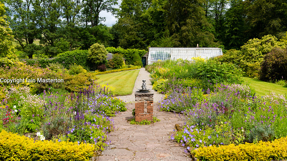 NTS Geilston Garden in Cardross, Argyll and Bute, Scotland, UK
