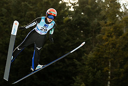 Yuki Ito of Japan soaring through the air during 1st Round at Day 1 of World Cup Ski Jumping Ladies Ljubno 2019, on February 8, 2019 in Ljubno ob Savinji, Slovenia. Photo by Matic Ritonja / Sportida
