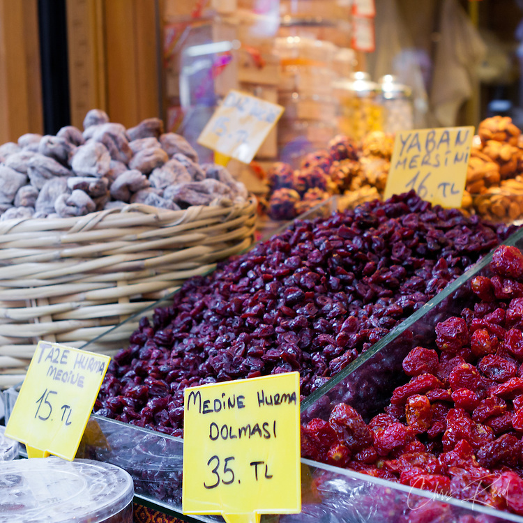 Dried Fruit at the Spice Bazaar