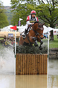 Toshiyuki Tanaka (JPN) riding Talma D Allou during the International Horse Trials at Chatsworth, Bakewell, United Kingdom on 13 May 2018. Picture by George Franks.