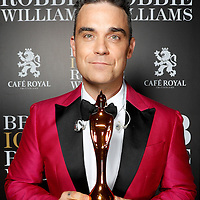 BRITs Icon Robbie Williams
