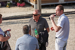Van Silfhout Diederik, Van Silfhout , Ernes Wim, (NED)<br /> Roelofsen Horse Trucks Prijs - Juniors Team Test<br /> Dutch Championship Dressage - Ermelo 2015<br /> © Hippo Foto - Dirk Caremans<br /> 17/07/15