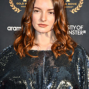 Dakota Blue Richards arrivers at Gold Movie Awards at Regents Street Theatre, on 9th January 2020, London, UK.