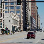Looking north up Grand Avenue in downtown Kansas City Missouri - taken for Rhythm Engineering.