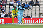 Moeen Ali batting during the ICC Cricket World Cup 2019 warm up match between England and Australia at the Ageas Bowl, Southampton, United Kingdom on 25 May 2019.