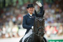 Fassaert Claudia (BEL) - Donnerfee<br /> Preis der Familie Tesch <br /> Lambertz Nations Cup<br /> Weltfest des Pferdesports CHIO Aachen 2014<br /> © Hippo Foto - Dirk Caremans