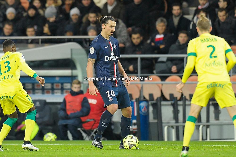 Zlatan Ibrahimovic - 06.12.2014 - PSG / Nantes - 17eme journee de Ligue 1<br />Photo : Andre Ferreira / Icon Sport
