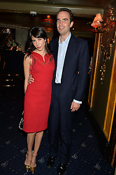 FRITZ & CAROLINE VON WESTENHOLZ at The Hoping Foundation's 'Starry Starry Night' Benefit Evening For Palestinian Refugee Children held at The Cafe de Paris, Coventry Street, London on 19th June 2014.