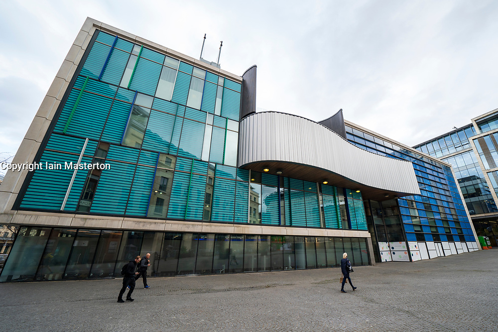 View of One Spa in Conference Square , Edinburgh, Scotland, UK