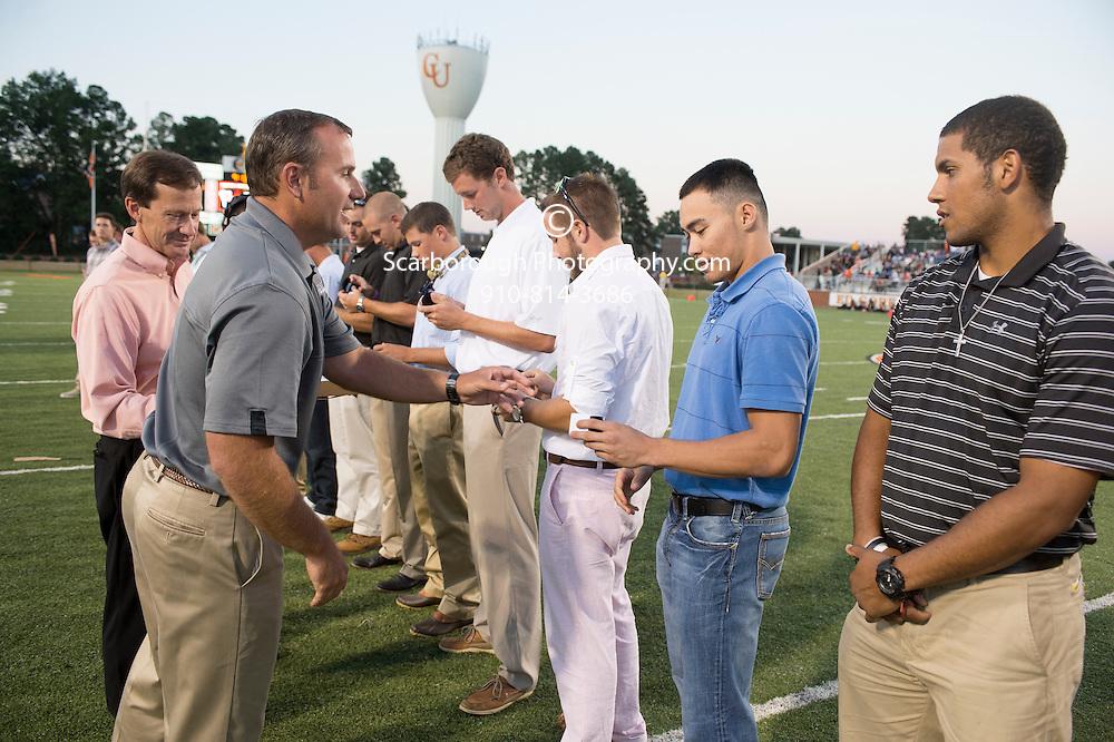 September 14th, 2013; Buies Creek North Carolina Campbell University Football vs Charleston Southern at the Barker-Lane Stadium, Ed Gore Field