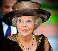 26-11-2013 - Rotterdam - Princess Beatrix attends the celebration of Beatrix at jubilee conference PUM. COPYRIGHT ROBIN UTRECHT