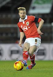 Bristol City's Wade Elliott - Photo mandatory by-line: Dougie Allward/JMP - Mobile: 07966 386802 - 29/01/2015 - SPORT - Football - Bristol - Ashton Gate - Bristol City v Gillingham - Johnstone Paint Trophy