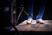 Savion Glover's footwork during his performance at SOPAC's 10 year anniversary Gala.