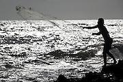 Canoa Quebrada_CE, Brasil...Praia de Canoa Quebrada, no Ceara. Na foto pescador na praia...Canoa Quebrada beach, Ceara. In this photo a fisherman in the beach...Foto: BRUNO MAGALHAES / NITRO