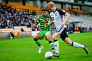 Forest Green Rovers Dominic Bernard(3) in action  during the EFL Sky Bet League 2 match between Port Vale and Forest Green Rovers at Vale Park, Burslem, England on 20 August 2019.