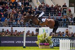 Bruynseels Niels, BEL, Jenson van't Meulenhof<br /> Jumping International de La Baule 2019<br /> &copy; Dirk Caremans<br /> Bruynseels Niels, BEL, Jenson van't Meulenhof