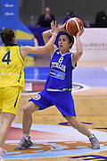 CAORLE 30 MAGGIO 2015<br /> AMICHEVOLE PRE EUROBASKET 2015 <br /> ITALIA - AUSTRALIA<br /> NELLA FOTO Giulia Gatti<br /> FOTO CIAMILLO