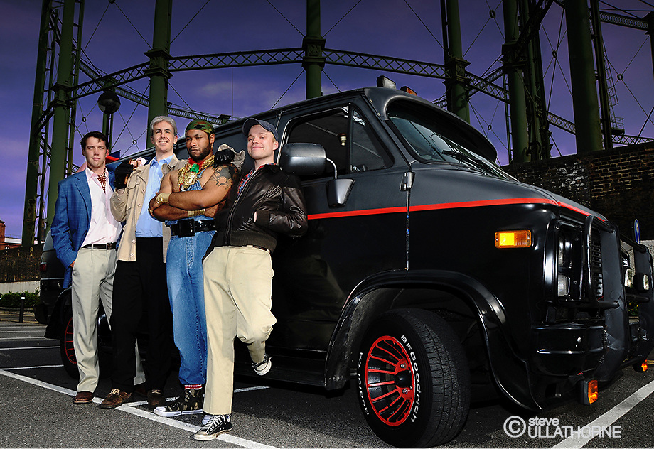 Cast of A-Team - The Musical by Gareth Kane
