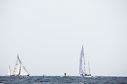 Black Watch and Bolero sailing in the Museum of Yachting Classic Yacht Regatta, race one.