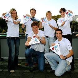 20-09-2008 REPORTAGE: AFTRAP KILIMANJARO CHALLENGE: ZOETERMEER<br /> Nienke van den Heuvel, Robin Angelier, Roy Derks, Bas van de Goor, Laura Butselaar, Inge Schreurs Jonkeren<br /> &copy;2008-WWW.FOTOHOOGENDOORN.NL