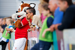 Bristol City Women's mascot Vicky the Vixon - Mandatory byline: Rogan Thomson/JMP - 09/07/2016 - FOOTBALL - Stoke Gifford Stadium - Bristol, England - Bristol City Women v Milwall Lionesses - FA Women's Super League 2.
