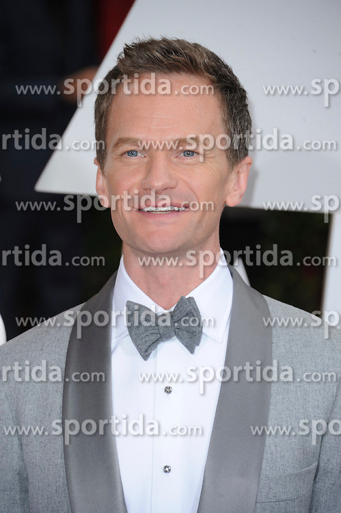 22.02.2015, Dolby Theatre, Hollywood, USA, Oscar 2015, 87. Verleihung der Academy of Motion Picture Arts and Sciences, im Bild Neil Patrick Harris // attends 87th Annual Academy Awards at the Dolby Theatre in Hollywood, United States on 2015/02/22. EXPA Pictures &copy; 2015, PhotoCredit: EXPA/ Newspix/ PGMP<br /> <br /> *****ATTENTION - for AUT, SLO, CRO, SRB, BIH, MAZ, TUR, SUI, SWE only*****
