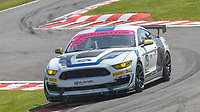 #19 Chad McCumbee / Jade Buford Multimatic Motorsports Ford Mustang GT4 Silver GT4  during British GT Championship as part of the British F3 / GT Championship at Oulton Park, Little Budworth, Cheshire, United Kingdom. April 20 2019. World Copyright Peter Taylor/PSP. Copy of publication required for printed pictures.
