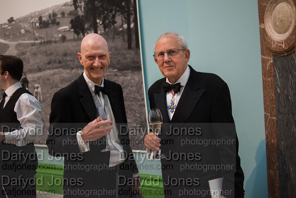 ALLEN JONES, WILL WYATT, 2019 Royal Academy Annual dinner, Piccadilly, London.  3 June 2019
