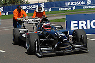 DURBAN, South Africa, during the Saturday qualifying sessions held as part of the A1GP race weekend in Durban, Team New Zealand's Jonny Reid spun out in the first qualifying segment, but redeemed himself to secure 3rd on the grid for both the Sprint and Feature Races. South Africa February 2008.  Photo: SportsPics/SPORTZPICS/Photosport