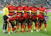 Team Angola , lagbilde<br /> <br /> Fussball WM 2006 Mexiko - Angola<br /> Mexico - Angola<br /> Norway only