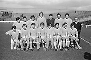 Hurling Kerry v Antrim.Antrim Team.05.03.1972  Hurling match between Kerry and Antrim on 5th March 1972.