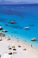 Italie, Sardaigne, Golfe d'Orosei, Cala Goloritze. // Cala Goloritze, Orosei Gulf, Sardinia, Italy.