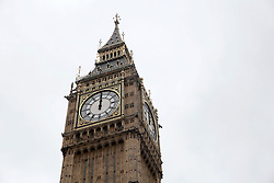 UK ENGLAND LONDON 22JUN16 - 12 p.m. noon time displayed on Big Ben, the clocktower of the Palace of Westminster, London.<br /> <br /> jre/Photo by Jiri Rezac<br /> <br /> © Jiri Rezac 2016