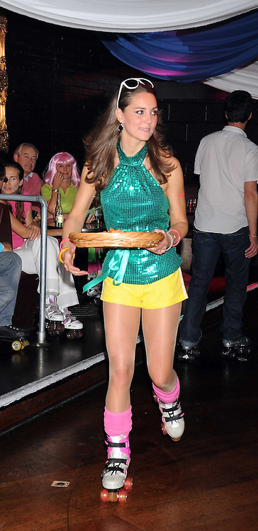 KATE MIDDLETON at a Roller Disco in aid of Tom's Ward at the Children's Hospital in Oxford and the charity Place2Be, held at The Renaissance Rooms, London SW8 on the 17th September 2008.<br /> KATE MIDDLETON at a Roller Disco in aid of TomÕs Ward at the ChildrenÕs Hospital in Oxford and the charity Place2Be, held at The Renaissance Rooms, London SW8 on the 17th September 2008.
