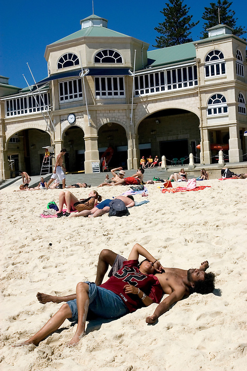 Cottesloe Beach with The Indiana Teahouse in background.Photograph David Dare Parker for The New York Times